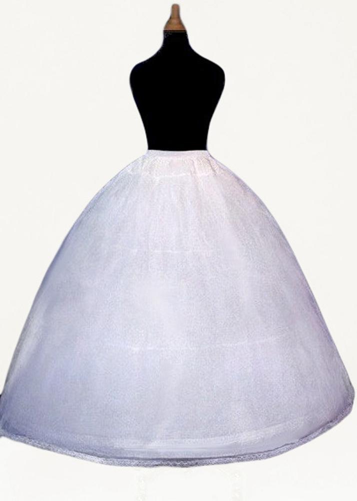 294153025f9d2 3 Hoop Skirt Slip Crinoline Petticoat ($19.95 - NEW) Wedding Adjustable  Underskirt
